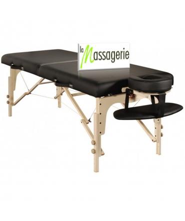 Table de massage en bois