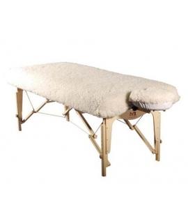 Couvre-matelas mouton-synthétique/Non-chauffant
