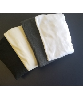 Cream interlock  fitted sheet
